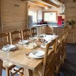 Dining Area Chalet Les Gentianes