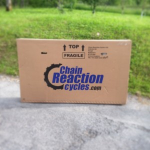 Shiny new toy from Chain Reaction Cycles