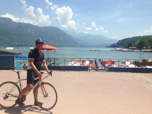 Lac Annecy on a Road Bike
