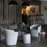 La Vallee living area and bar