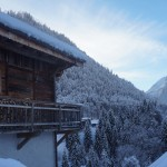 View across Morzine from The Nest