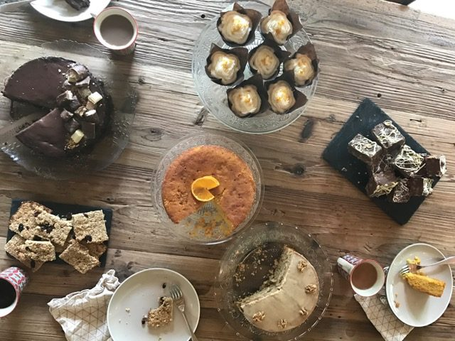 Gluten and Dairy Free Cakes at Mountain Spaces