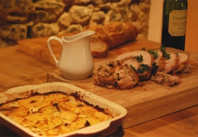 Catered Chalet Recipes | Potato and Parsnip Gratin