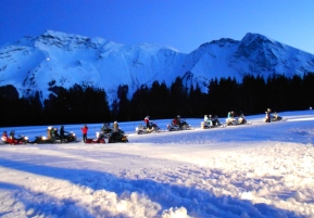 Activities in Morzine | Snow Scooters