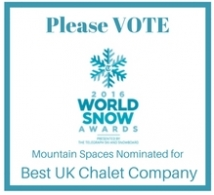 Vote Mountain Spaces – Telegraph Ski and Snow Awards 2016